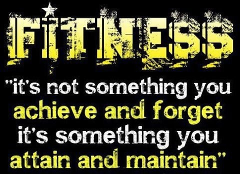 Fitness Maintenance